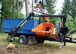 CHIPPERS FOR TRACTORS - DRUM CHIPPERS